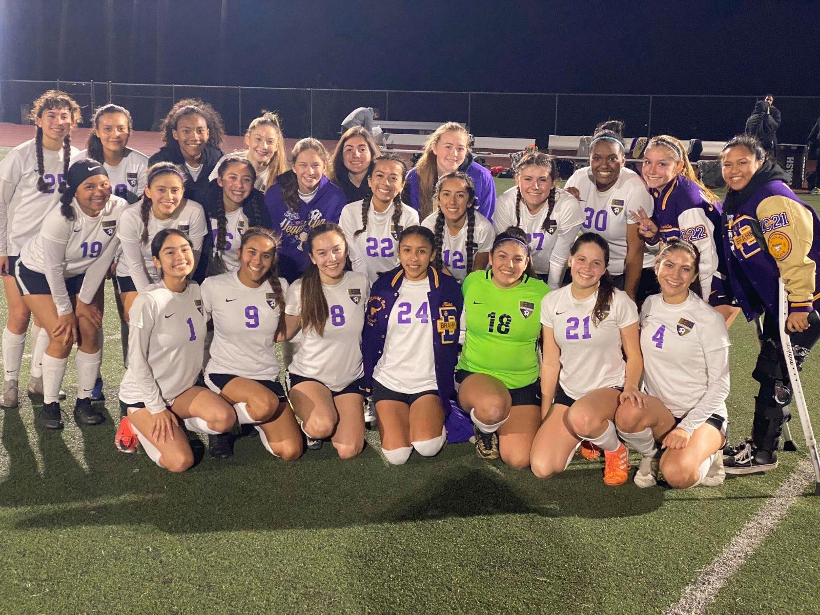 Girls Soccer Wins 2nd Round CIF-SS Match