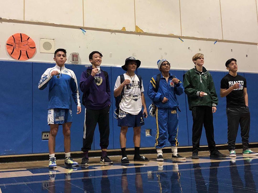 Ryan Wong Advances To Wrestling Masters