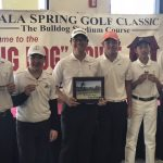 Boys JV Golf Team Wins Ayala Tournament