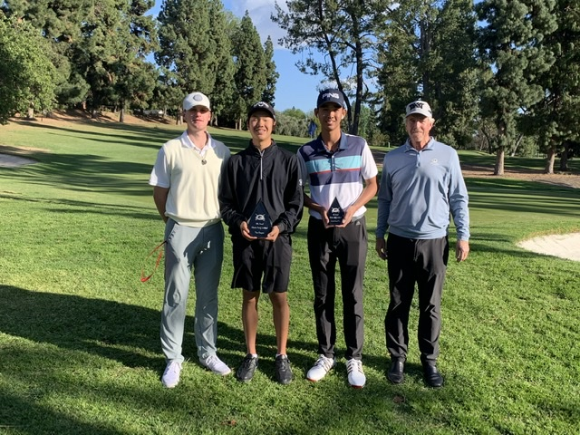 Boys Varsity Golf Wins Glendora Tournament