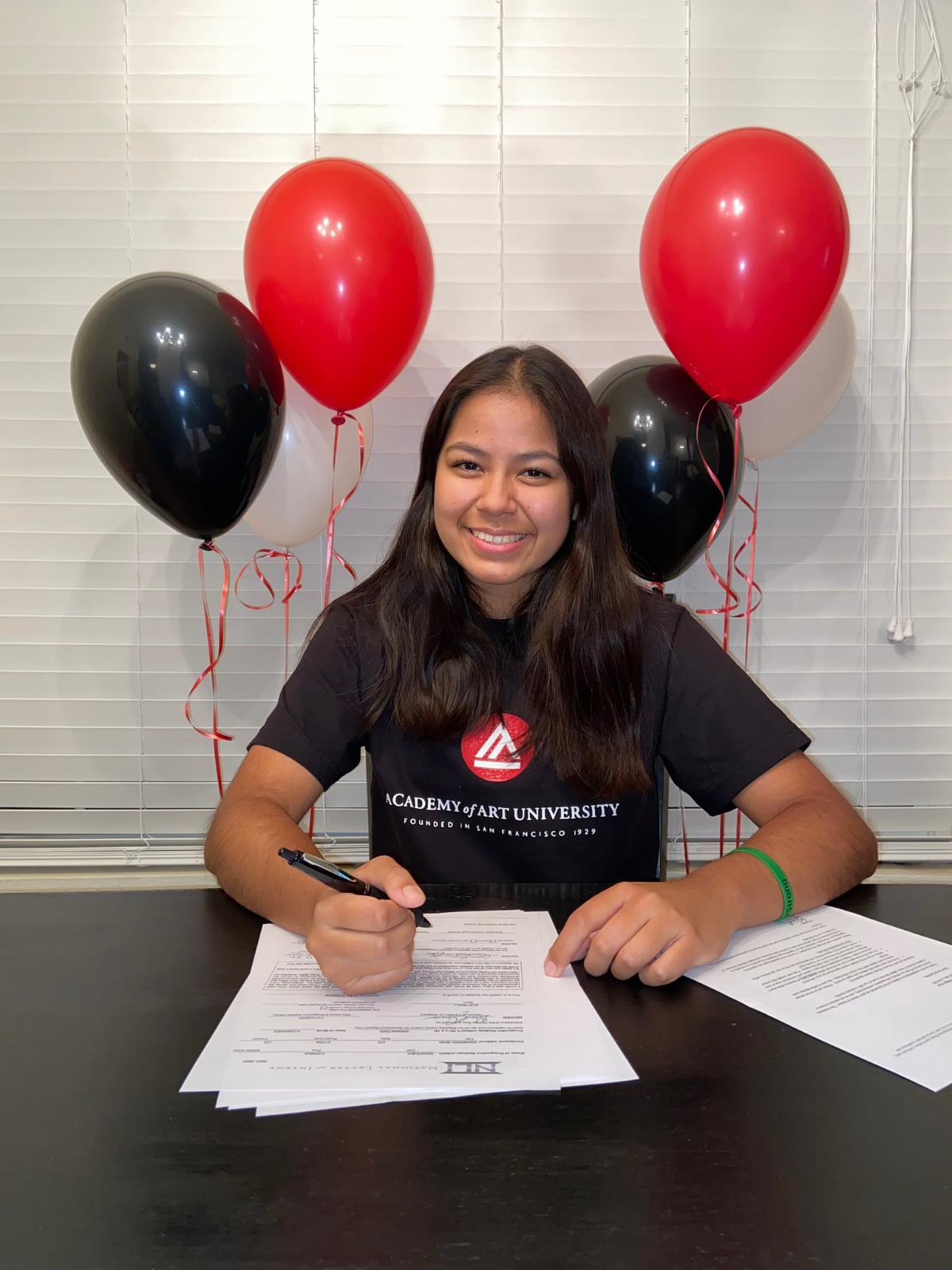 Carina Sanchez Will Play For Academy of Art University