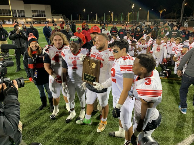 Lawndale Football is Division 2A Southern Regional Champions