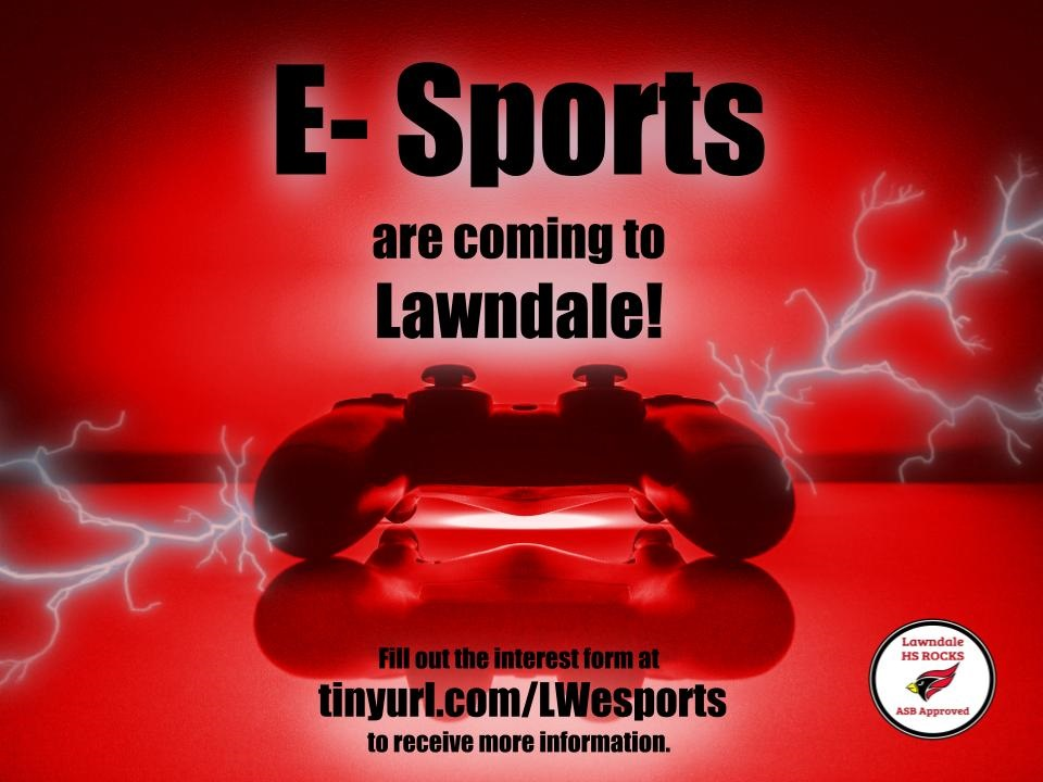 E-Sports are coming to Lawndale!!!