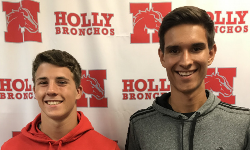Postma & Cuthbert – Tennis Honorable Mention ALL STATE