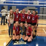 Holly High School Girls Freshman Volleyball beat Carman-Ainsworth High School 2-0