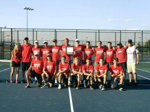 2017 FML Boys Tennis Champions