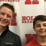 Wyatt Caldwell & Garrett Reid – Tennis Athlete of the Week