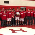 Boys Varsity Wrestling finishes 1st place at FML Tournament @ Holly High School