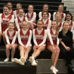 MS Competitive Cheer at Fenton Competition