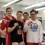 Boys Swim Team finished 3rd at FML Championship