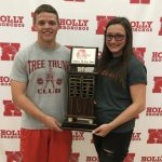 Grant Tooley & Sami Hild … Our Male and Female ATHLETES of the YEAR