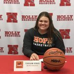 Taylor Vines to play Basketball at Hope College!
