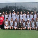Girls Varsity Tennis finishes 1st place at MHSAA Regionals @ Brighton High School