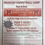 Broncho Basketball Camp