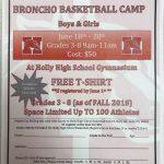 Broncho Basketball Camp
