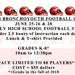 Broncho Football Camp