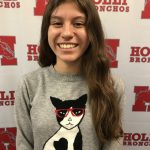 Congrats State Bank Athlete of the Week for Cross Country – Andrea Ruiz!