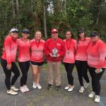 Girls Junior Varsity Golf finishes 2nd place at Tournament @ Holiday Meadows GC