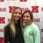 State Bank Athlete of the Week for Tennis – April Tetlow and Ruby Barrett!