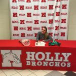 Gabrielle St. Andre – Letter of Intent for Ferris State!