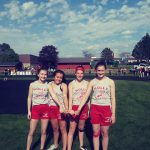 Girls Middle School Track & Field finishes 8th place at Invitational @ Grand Blanc High School