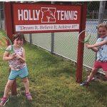 Holly Summer Tennis Program will soon be in full swing!