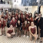 Girls Varsity Swimming finishes 3rd place at FML Meet – Finals @ Fenton High School
