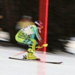 Boys Varsity Skiing wins first Slalom meet vs Flushing @ Mt Holly