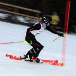 Holly Oxford Ski Team Girls Varsity Skiing finishes 1st place in Slalom vs Flushing 15-21