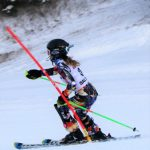 Holly Oxford Ski Team Girls Varsity Skiing falls to Flint Powers in Slalom and Giant Slalom