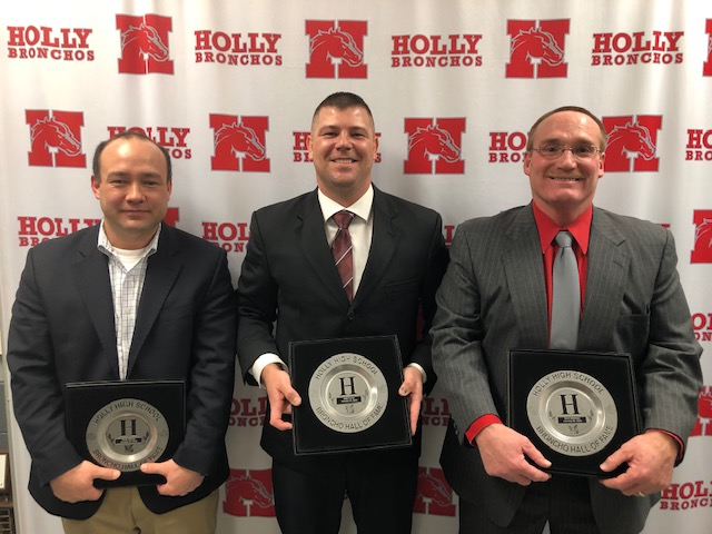 2020 Broncho Hall of Fame Inductees