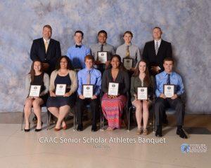 CAAC Honors Top Scholar Athletes