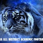 Tigers Named To All District Academic Football Team