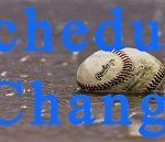 Change In LK Baseball Tournament Schedule