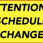 Basketball and Powerlifting Schedule Changes