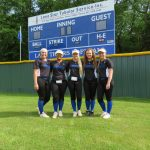Byrd, Fomby, Makepeace, Runk, and Welch Named To Academic All-State Softball Team
