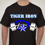 Get Your Powerlifting T's and Go Tiger Iron