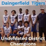8th Grade Tigers Capture District Championship;Go Undefeated