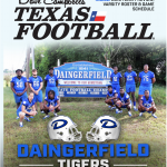 Order Your 2019 Dave Campbell's Texas Football Magazine With Tiger Photo Cover Wrap