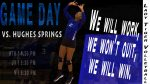 Daingerfield Hosts Hughes Springs in Volleyball