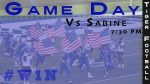 Tiger Football Travels to Sabine