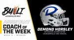 Demond Horsley – DairyMAX Assistant Coach of the Week