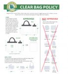 Clear Bag Policy for Lobo Stadium