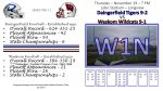 Game Program and Broadcast Information