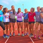 Girls Track Compete at Regional Track Meet