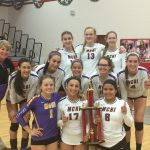 Mcallen High School Girls Varsity Volleyball beat Nikki Rowe High School 2-0