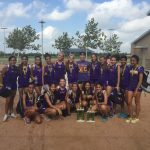 Mcallen High School Girls Varsity Cross Country finishes 1st place