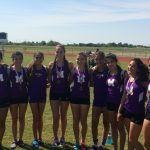 McAllen High School Girls Varsity Cross Country finishes in 2nd place