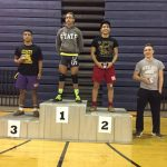 Angel Acosta places 3rd