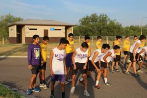 Boys Cross Country at Bentsen (vs Sharyland)
